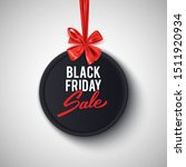 black friday sale advertisement ... | Shutterstock .eps vector #1511920934