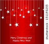 christmas greeting card   Shutterstock .eps vector #151193255