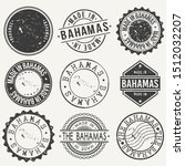 bahamas travel stamp made in... | Shutterstock .eps vector #1512032207