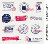 christmas postmarks  stamps set....
