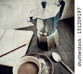 Tea Grunge Pot Vintage Posters...