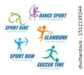 sport logo collection for your... | Shutterstock .eps vector #1512139244