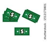 set a various kind of money.... | Shutterstock .eps vector #1512173801