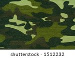 camouflage cloth - stock photo