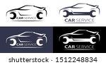 car service logo linear for... | Shutterstock .eps vector #1512248834