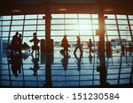 Business Travel  Silhouettes O...