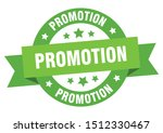 promotion ribbon. promotion... | Shutterstock .eps vector #1512330467