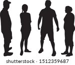 group of people. crowd of... | Shutterstock .eps vector #1512359687