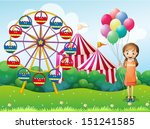 illustration of a happy young... | Shutterstock .eps vector #151241585