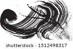 ink splash. brush stroke... | Shutterstock .eps vector #1512498317