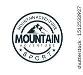 simple mount logo emblem version | Shutterstock .eps vector #1512533927