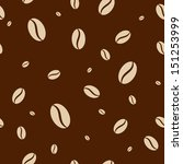 seamless pattern with coffee...   Shutterstock .eps vector #151253999