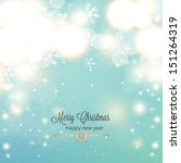 abstract christmas background... | Shutterstock .eps vector #151264319
