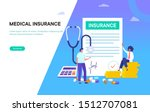 medical family insurance vector ...