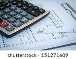 financial | Shutterstock . vector #151271609