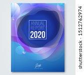 annual report cover design...   Shutterstock .eps vector #1512762974