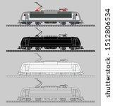 Railway Transport Locomotive....