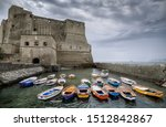 Dramatic View At Castel Dell...