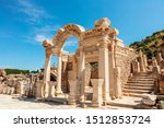 Temple Of Hadrian At The...