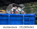 A Garbage Container. A Large...