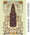 textile carpet design... | Shutterstock .eps vector #1512874481