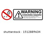 vector red black  caution sign  ... | Shutterstock .eps vector #1512889634