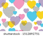 seamless pattern of colorful...   Shutterstock .eps vector #1512892751