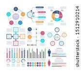 infographic elements. modern... | Shutterstock . vector #1512910214
