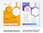 flyer brochure design  business ... | Shutterstock .eps vector #1512917627