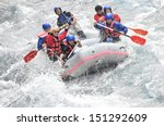 Rafting  Extreme And Fun Sport