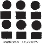 big collection of grunge post... | Shutterstock .eps vector #1512940697