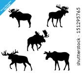 animal,art,black,canada,clip,decoration,digitally,discovery,drawing,elk,eps10 vector,graphic,head,horn,horned