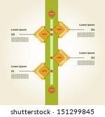 modern timeline design template.... | Shutterstock .eps vector #151299845