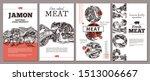 trendy modern design for meat...   Shutterstock .eps vector #1513006667