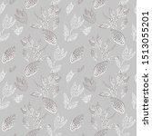 seamless texture with floral... | Shutterstock .eps vector #1513055201