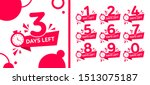 number days left countdown... | Shutterstock .eps vector #1513075187