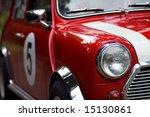 Classic Rracing Mini Cooper...