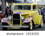 an fully restored classic car...