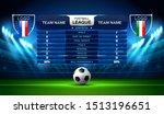 soccer football stadium... | Shutterstock .eps vector #1513196651