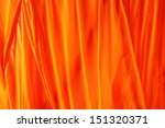 Texture Of Flowing Wavy Orange...