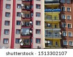 an apartment  balcony view  in... | Shutterstock . vector #1513302107
