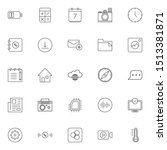 set 260 of ui and ux icon in...