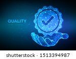 quality. low polygonal quality... | Shutterstock .eps vector #1513394987