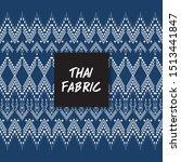 thai fabric pattern.wallpaper ... | Shutterstock .eps vector #1513441847
