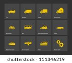 cars and transport icons.... | Shutterstock .eps vector #151346219
