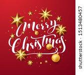 stock vector happy merry... | Shutterstock .eps vector #1513480457