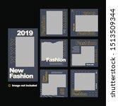 set of modern promotion web... | Shutterstock .eps vector #1513509344