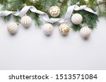 beautiful christmas composition ... | Shutterstock . vector #1513571084