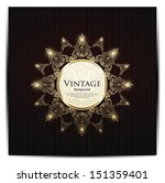 vintage card design for... | Shutterstock .eps vector #151359401