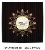 vintage card design for... | Shutterstock .eps vector #151359401